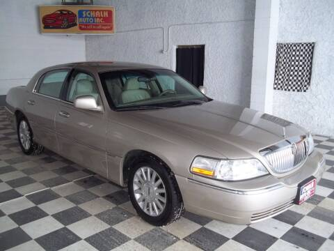 2004 Lincoln Town Car for sale at Schalk Auto Inc in Albion NE