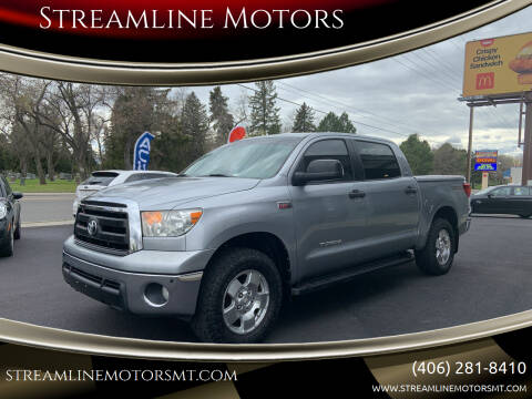 2010 Toyota Tundra for sale at Streamline Motors in Billings MT