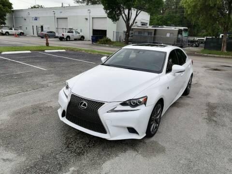 2015 Lexus IS 250 for sale at Best Price Car Dealer in Hallandale Beach FL