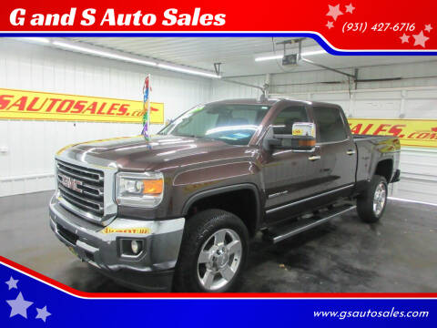 2016 GMC Sierra 2500HD for sale at G and S Auto Sales in Ardmore TN