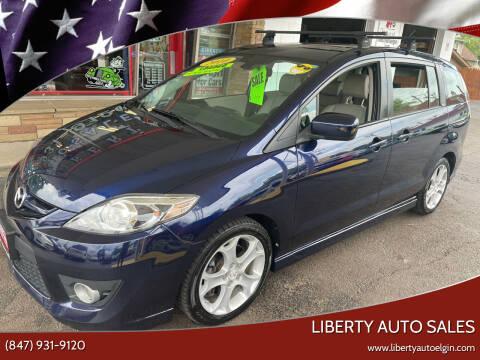 2010 Mazda MAZDA5 for sale at Liberty Auto Sales in Elgin IL
