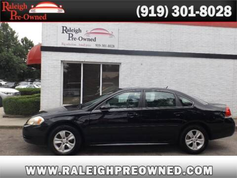 2014 Chevrolet Impala Limited for sale at Raleigh Pre-Owned in Raleigh NC