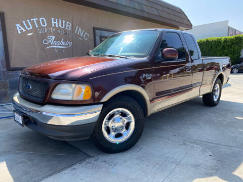 2000 Ford F-150 for sale at Auto Hub, Inc. in Anaheim CA