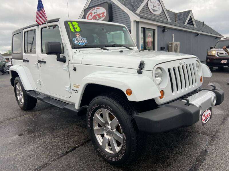 2013 Jeep Wrangler Unlimited for sale at Cape Cod Carz in Hyannis MA