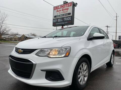 2017 Chevrolet Sonic for sale at Unlimited Auto Group in West Chester OH