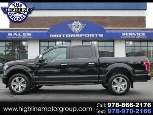 2017 Ford F-150 for sale at Highline Group Motorsports in Lowell MA