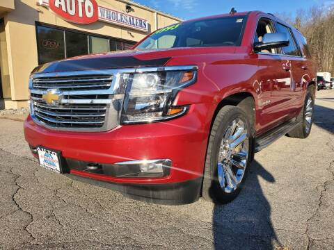 2015 Chevrolet Tahoe for sale at Auto Wholesalers Of Hooksett in Hooksett NH