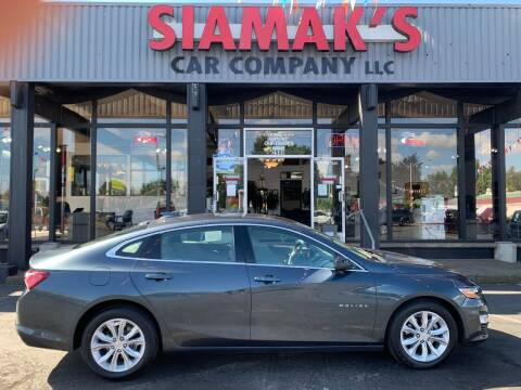 2019 Chevrolet Malibu for sale at Siamak's Car Company llc in Salem OR