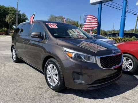 2015 Kia Sedona for sale at AUTO PROVIDER in Fort Lauderdale FL