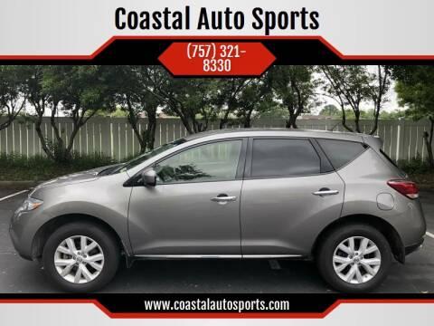 2012 Nissan Murano for sale at Coastal Auto Sports in Chesapeake VA