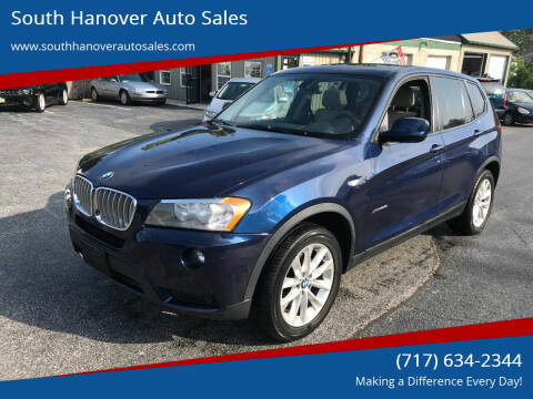 2014 BMW X3 for sale at South Hanover Auto Sales in Hanover PA