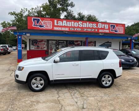 2017 Jeep Compass for sale at LA Auto Sales in Monroe LA