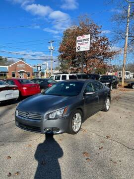 2014 Nissan Maxima for sale at NEWFOUND MOTORS INC in Seabrook NH