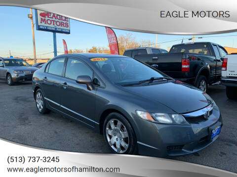 2011 Honda Civic for sale at Eagle Motors in Hamilton OH