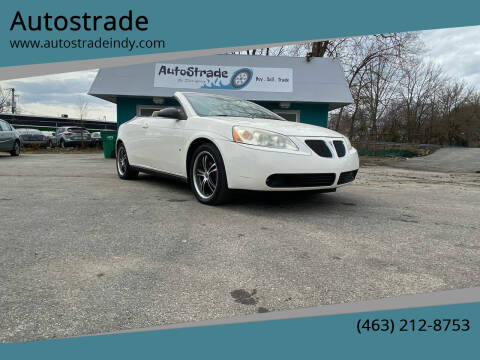 2007 Pontiac G6 for sale at Autostrade in Indianapolis IN