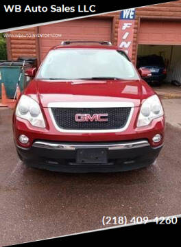 2007 GMC Acadia for sale at WB Auto Sales LLC in Barnum MN
