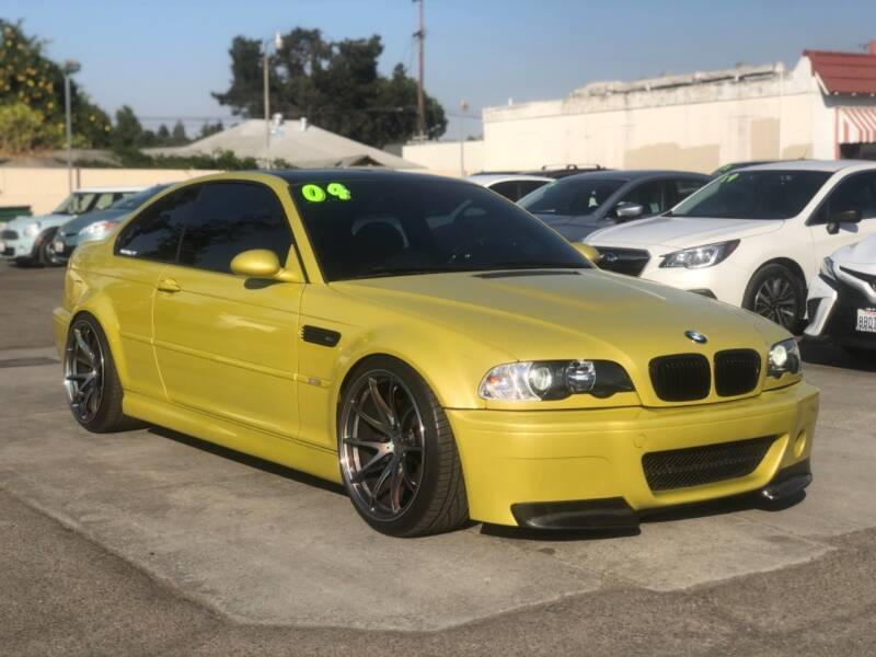 2004 BMW M3 for sale at H & K Auto Sales & Leasing in San Jose CA