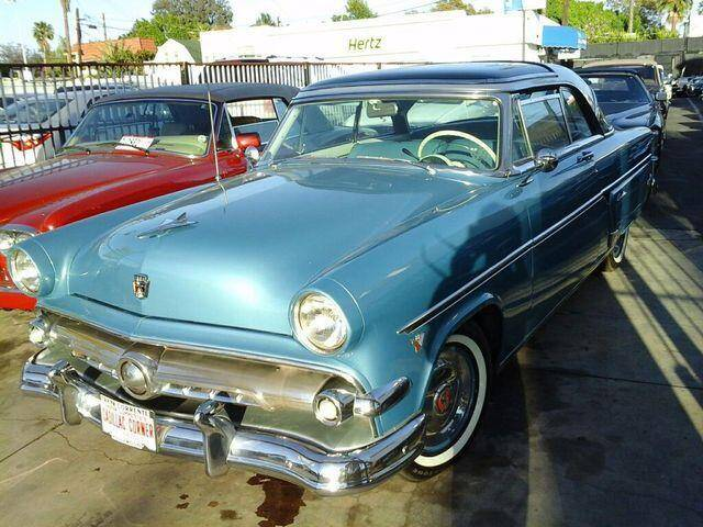 1954 Ford Skyliner for sale at Frank Corrente Cadillac Corner in Los Angeles CA
