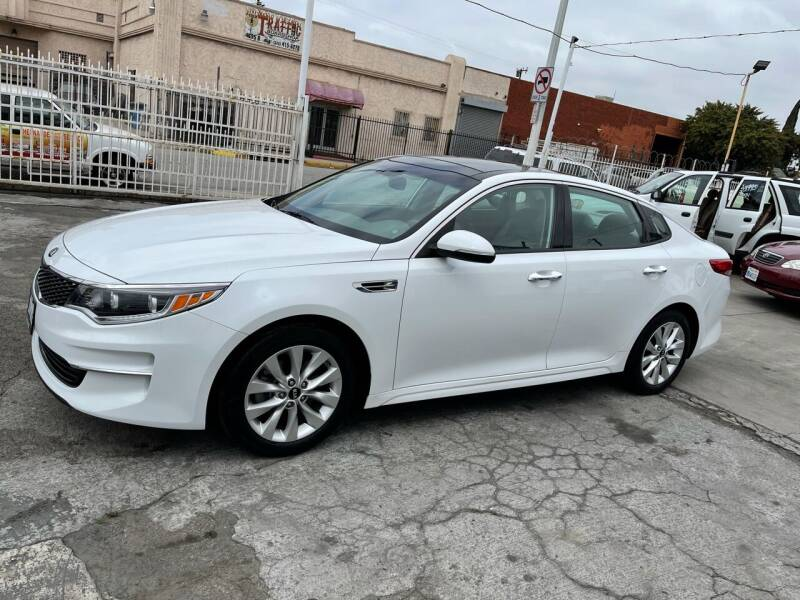 2016 Kia Optima for sale at Olympic Motors in Los Angeles CA