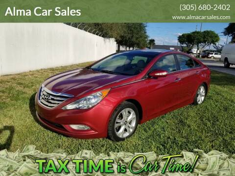 2012 Hyundai Sonata for sale at Alma Car Sales in Miami FL