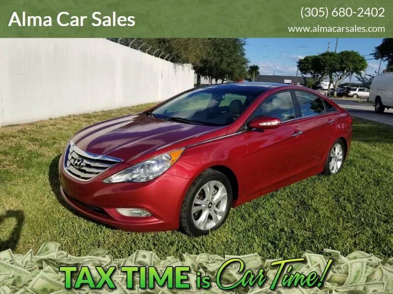 2012 Hyundai Sonata for sale at Alma Car Sales in Miami FL
