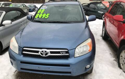 2008 Toyota RAV4 for sale at Richard C Peck Auto Sales in Wellsville NY