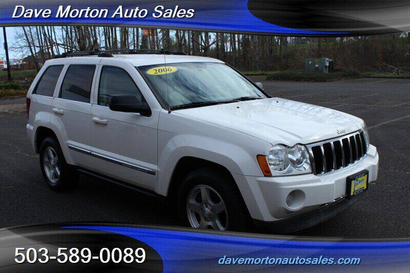 2006 Jeep Grand Cherokee for sale at Dave Morton Auto Sales in Salem OR