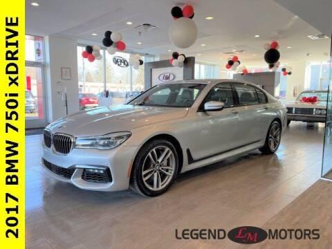 2017 BMW 7 Series for sale at Legend Motors of Detroit - Legend Motors of Waterford in Waterford MI