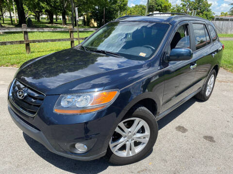 2010 Hyundai Santa Fe for sale at LESS PRICE AUTO BROKER in Hollywood FL