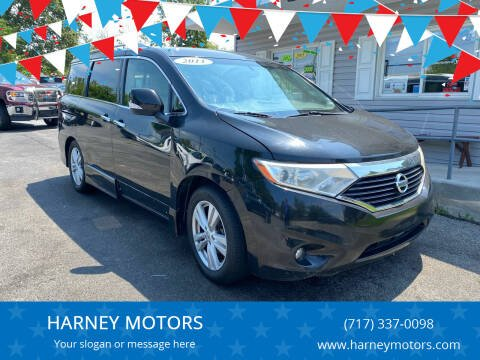 2011 Nissan Quest for sale at HARNEY MOTORS in Gettysburg PA