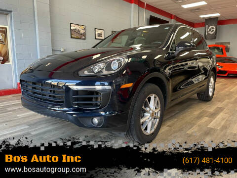 2015 Porsche Cayenne for sale at Bos Auto Inc in Quincy MA