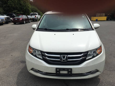 2014 Honda Odyssey for sale at Karlins Auto Sales LLC in Saratoga Springs NY