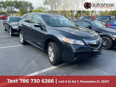 2015 Acura RDX for sale at AUTOSHOW SALES & SERVICE in Plantation FL