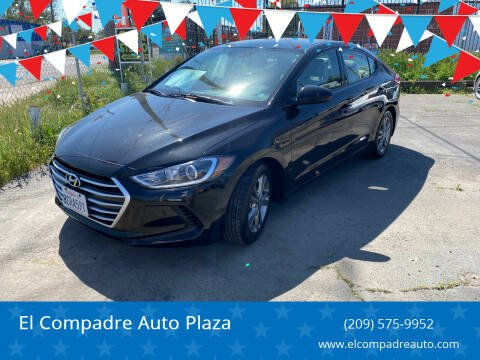 2018 Hyundai Elantra for sale at El Compadre Auto Plaza in Modesto CA