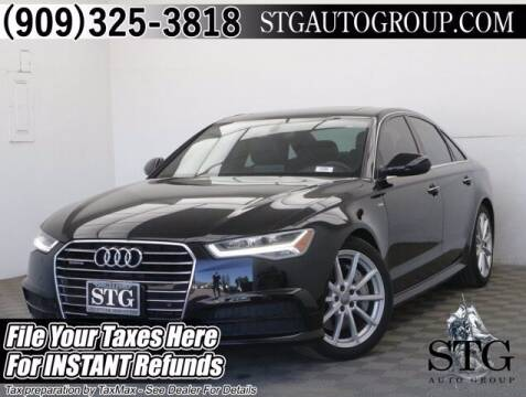 2018 Audi A6 for sale at STG Auto Group in Montclair CA
