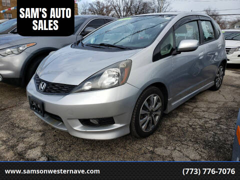 2013 Honda Fit for sale at SAM'S AUTO SALES in Chicago IL