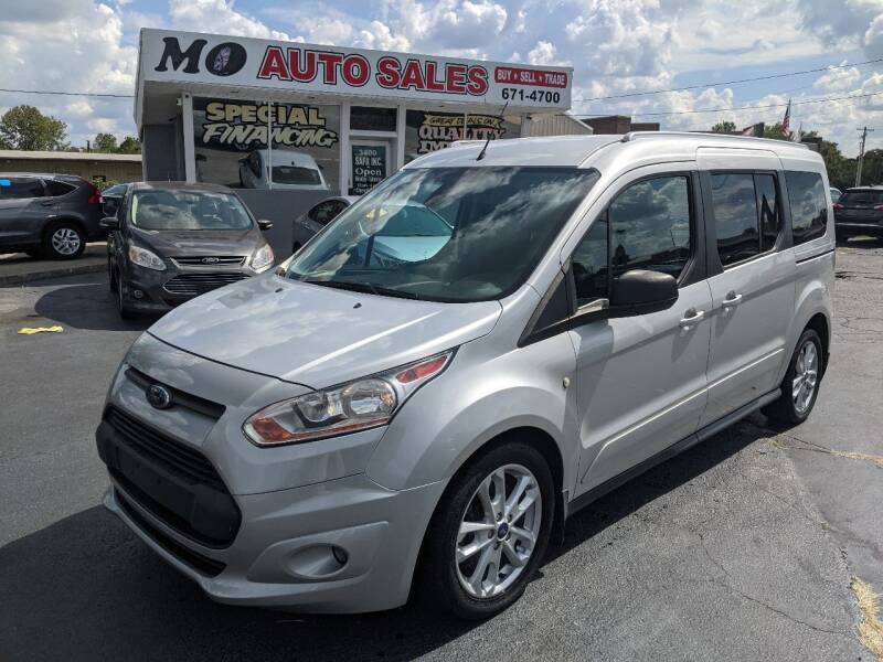 2017 Ford Transit Connect Wagon for sale at Mo Auto Sales in Fairfield OH