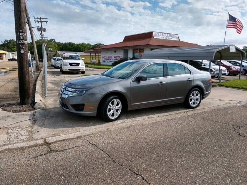 2012 Ford Fusion for sale at Rock & Roll Motors in Baton Rouge LA
