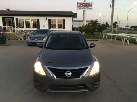 2019 Nissan Versa for sale at Zoom Auto Sales in Oklahoma City OK