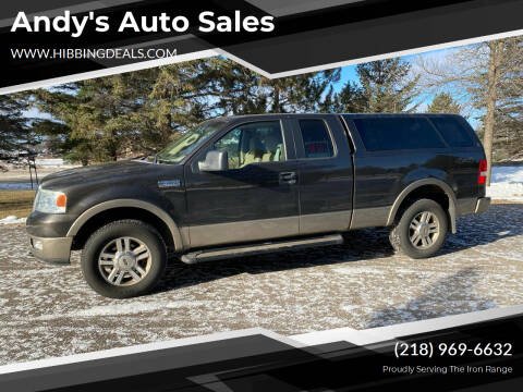 2005 Ford F-150 for sale at Andy's Auto Sales in Hibbing MN