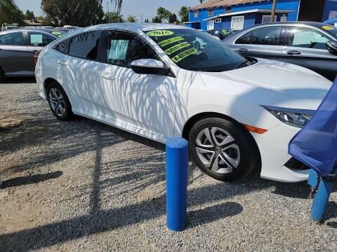 2016 Honda Civic for sale at La Playita Auto Sales Tulare in Tulare CA