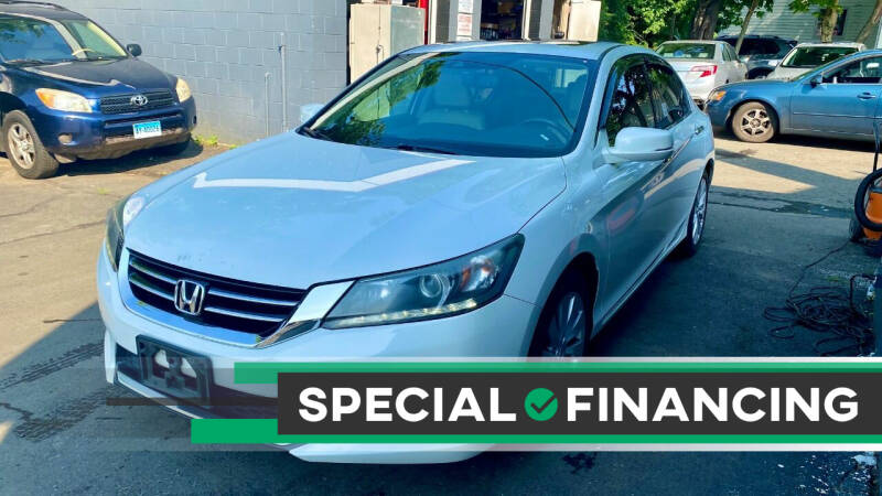 2014 Honda Accord for sale at ELITE MOTORS in West Haven CT