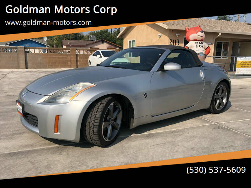 2005 Nissan 350Z for sale at Goldman Motors Corp in Stockton CA