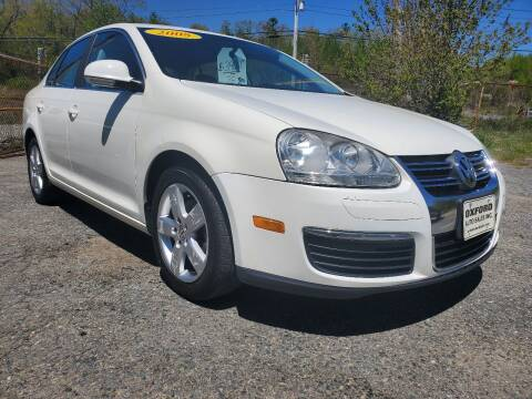 2008 Volkswagen Jetta for sale at Oxford Auto Sales in North Oxford MA