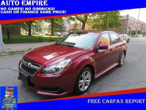 2014 Subaru Legacy for sale at Auto Empire in Brooklyn NY