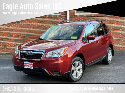 2014 Subaru Forester for sale at Eagle Auto Sales LLC in Holbrook MA