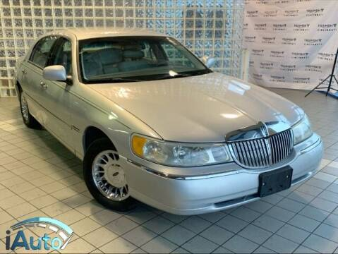 1999 Lincoln Town Car for sale at iAuto in Cincinnati OH