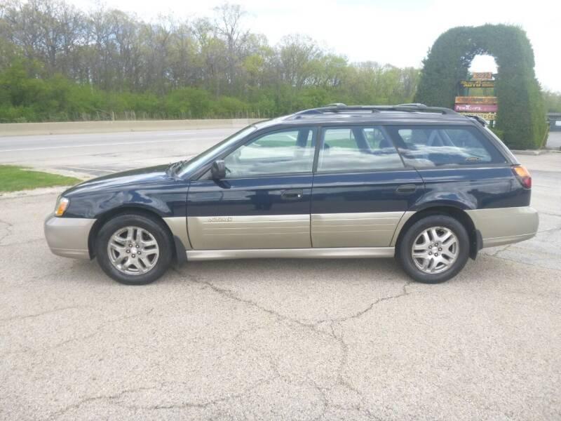 2002 Subaru Outback for sale at NEW RIDE INC in Evanston IL