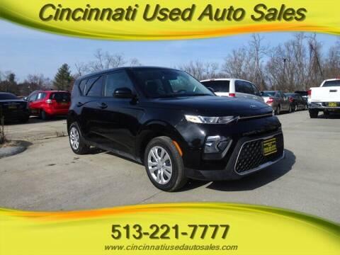 2020 Kia Soul for sale at Cincinnati Used Auto Sales in Cincinnati OH
