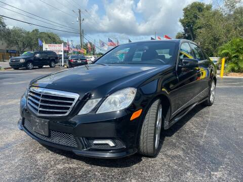 2011 Mercedes-Benz E-Class for sale at RoMicco Cars and Trucks in Tampa FL